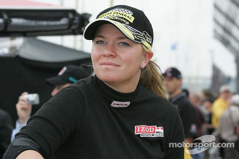 Sarah Fisher's gonna race a midget? How cute!