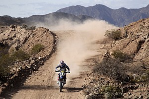 Dakar Stage report Botturi climbs up the order as Dakar hits half way stage