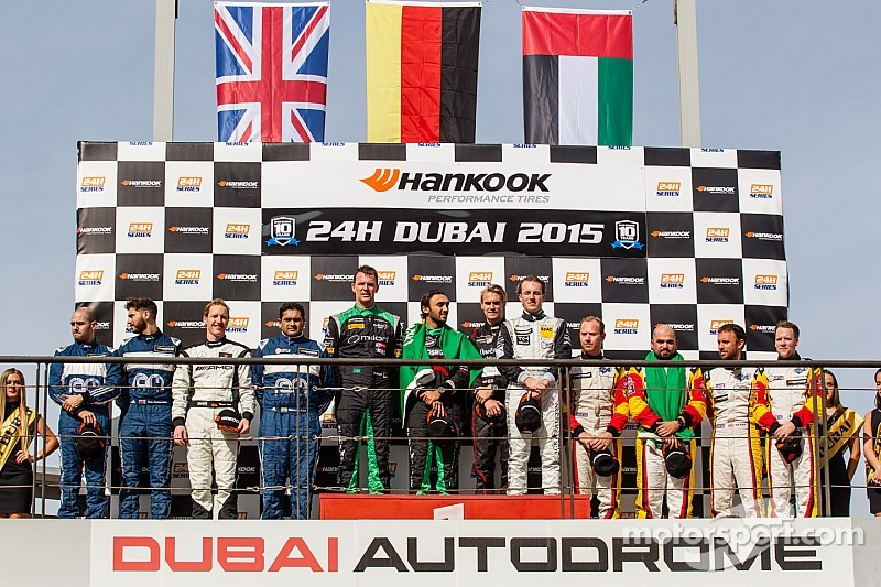Black Falcon takes third overall win in 24H Dubai with Mercedes-Benz
