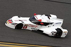 IMSA Testing report DeltaWing coupe runs near the top of the speed charts in four practice sessions at Daytona