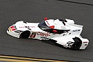 DeltaWing coupe runs near the top of the speed charts in four practice sessions at Daytona