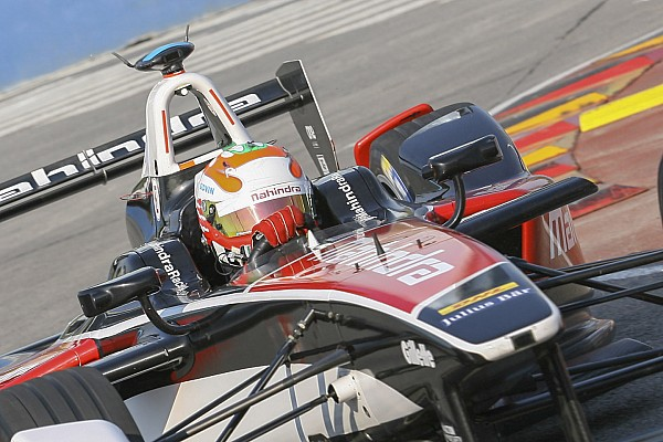 Formula E Karun Chandhok forced to retire from Argentina ePrix
