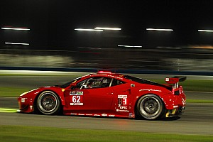 IMSA Testing report Risi Competizione team successfully complete their set up at Daytona