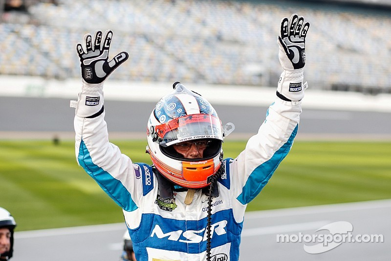 Oswaldo Negri to lead field to the green flag in 2015 Rolex 24 at Daytona
