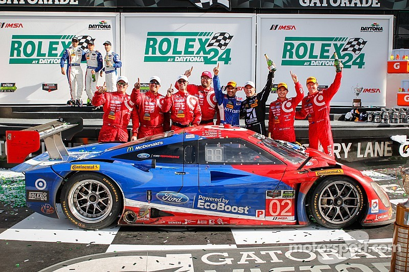 Ford EcoBoost Powers Chip Ganassi Racing to Victory in Daytona 24H