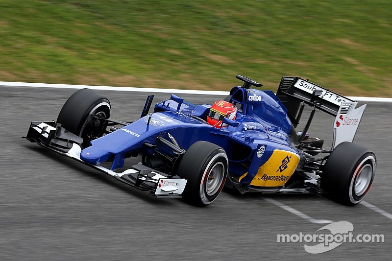 Nasr plays down Sauber's top test pace