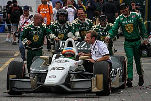 IndyCar Breaking news CFH Racing anxious to get ahold of aero kits