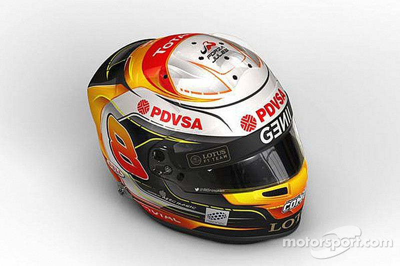 Grosjean to run Bianchi tribute on 2015 helmet