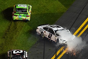 NASCAR Cup Race report Fireworks break out early in Sprint Unlimited, Keselowski crashes