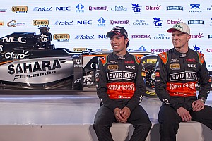 Formula 1 Breaking news Hulkenberg, Perez will test at Barcelona - Force India