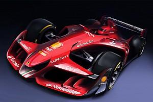 Formula 1 Interview Vettel gives his verdict on Ferrari's Formula One concept car