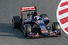 Max Verstappen completes 130 laps behind the wheel of the STR10 at Barcelona
