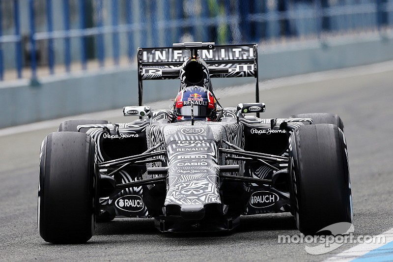 Red Bull finishes test on a positive note at Barcelona