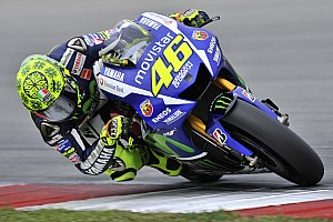 MotoGP Testing report Rossi continues form as storm disrupts First Day of Second Sepang Test
