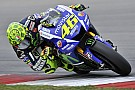 Rossi continues form as storm disrupts First Day of Second Sepang Test
