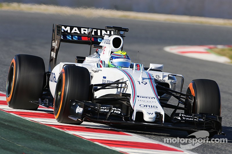 Williams remains reliable and Massa is the second fastest on Day 3 at Barcelona