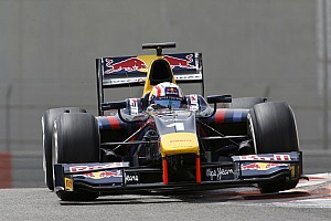 FIA F2 Testing report Gasly tops first GP2 test of 2015
