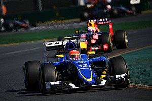 Formula 1 Race report Sauber big relief: Nasr 5th, Ericsson 8th in Australia