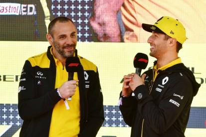 """Abiteboul: Renault nach Ricciardo-Verpflichtung """"nackt"""""""