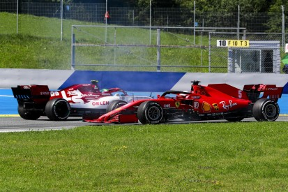 """Sebastian Vettel abgeschlagen auf P10: """"Froh, dass es nur ein Dreher war"""""""