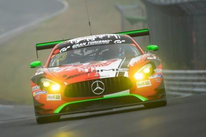 Qualifying NLS4: GetSpeed-Mercedes fährt im Regen auf die Pole