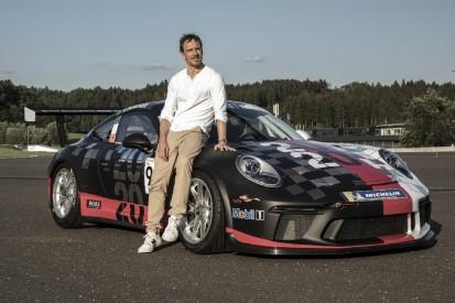 Hollywood-Filmstar Michael Fassbender fährt im Porsche-Supercup