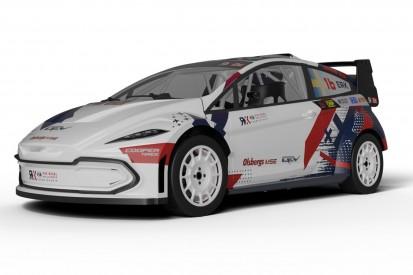 Vollelektrisches Rallycross-Auto für die RX2e vorgestellt