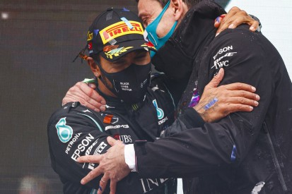 """Lewis Hamilton an Wolff: """"Toto, ich bleibe weiter bei euch!"""""""