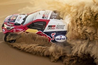 Maximal 180 km/h Spitze: Toyota freut neues Limit, X-raid knirscht mit Zähnen
