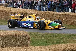 Vintage Actualités La Benetton B191 de Schumacher vendue aux enchères