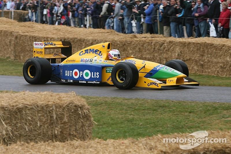 La Benetton B191 de Schumacher vendue aux enchères