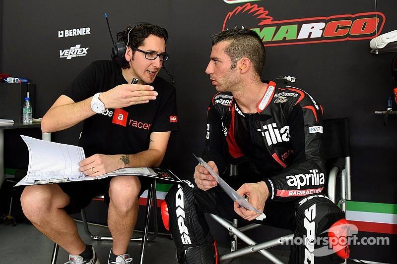 MotoGP - Marco Melandri doit encore convaincre Aprilia