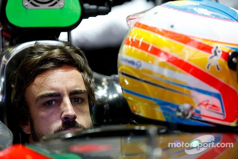 """Alonso tiene """"buen día"""" en el simulador de McLaren"""