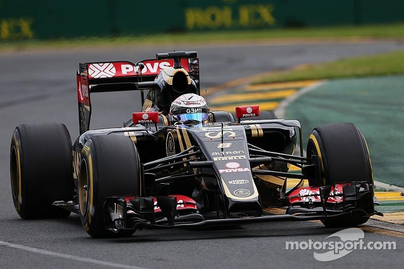 Lotus quiere alcanzar a Williams