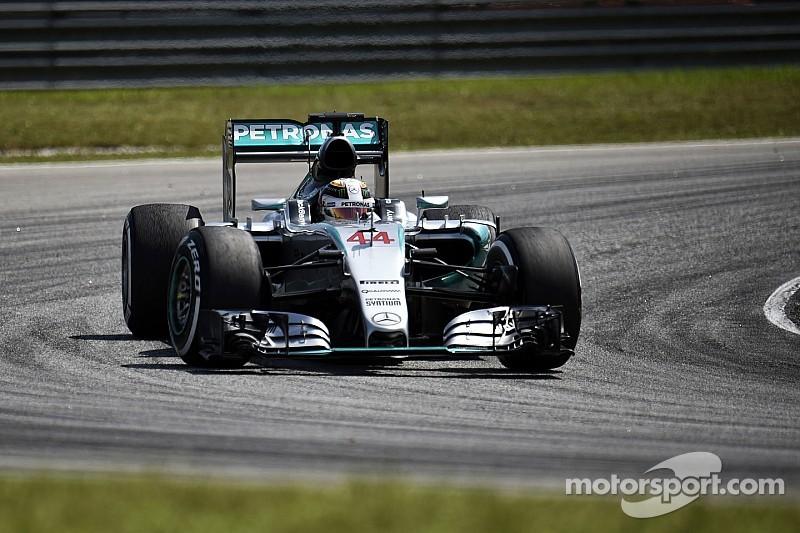 Hamilton en pole sans prendre de risques