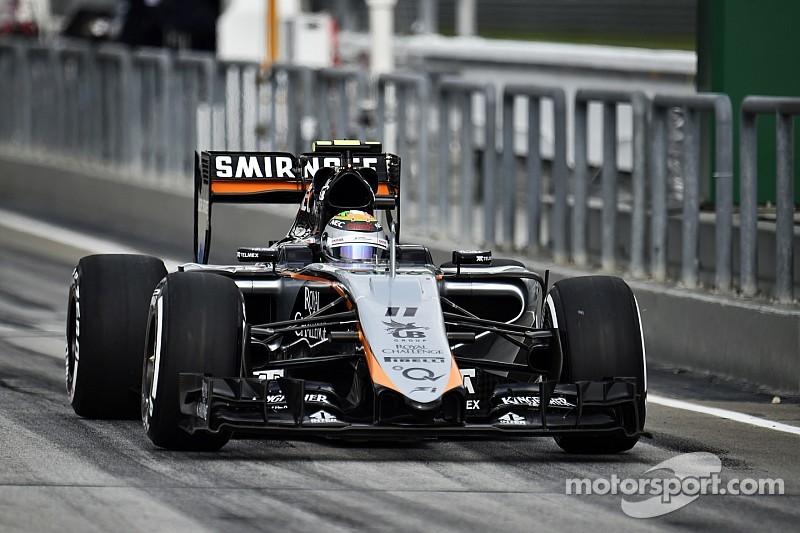 """Pérez """"ne pouvait pas éviter le contact"""" avec Grosjean"""