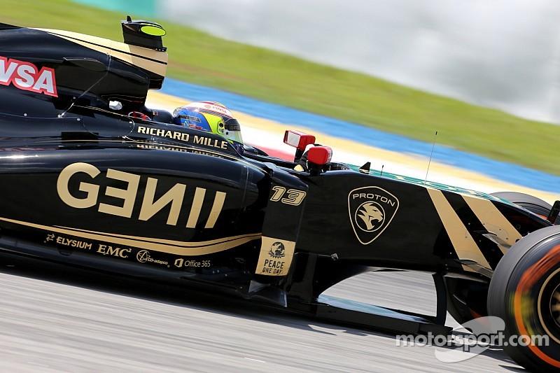 Maldonado recibe tres puntos de penalidad