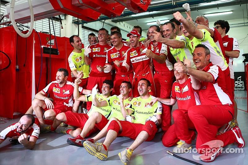 """Vettel: """"Ahora me siento parte de Ferrari"""""""