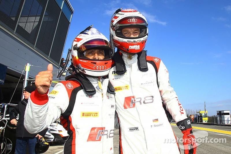 Audi beats BMW to Blancpain Sprint opener pole