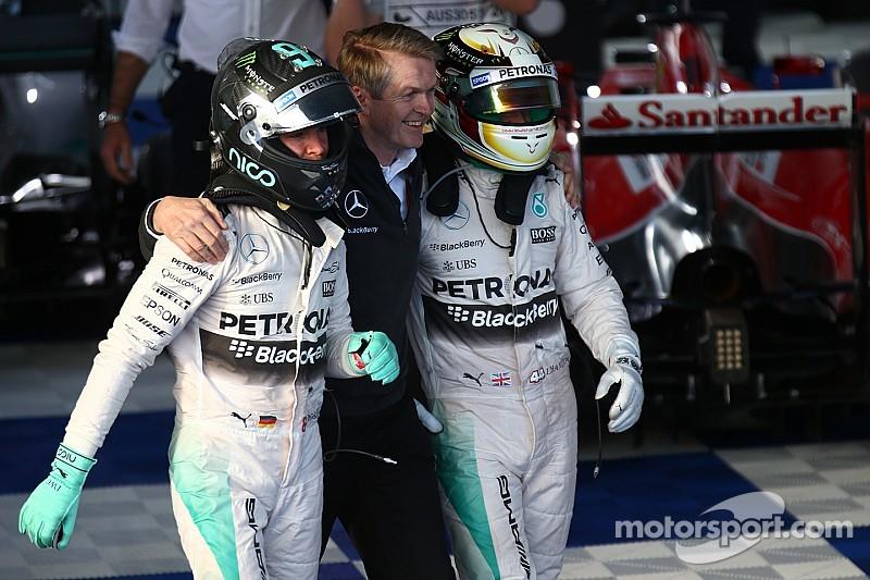 Mercedes force Hamilton et Rosberg à l'union sacrée face à Ferrari