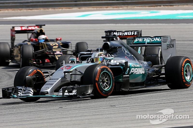 """Mercedes """"no puede permitirse"""" repetir lo sucedido en Malasia"""