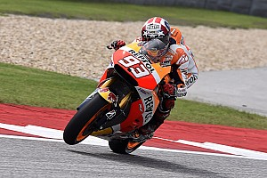 MotoGP Qualifying report Bridgestone: Marquez smashes his own lap record to take pole at the GP of the Americas