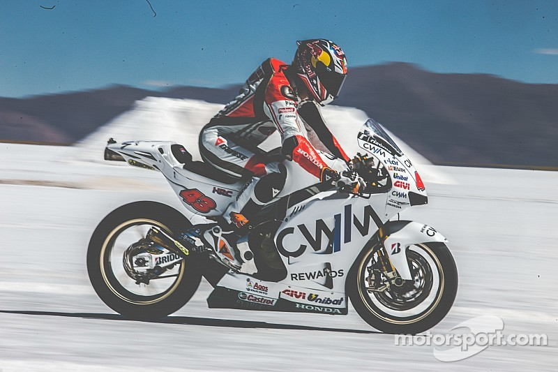MotoGP aceleró en Salinas Grandes