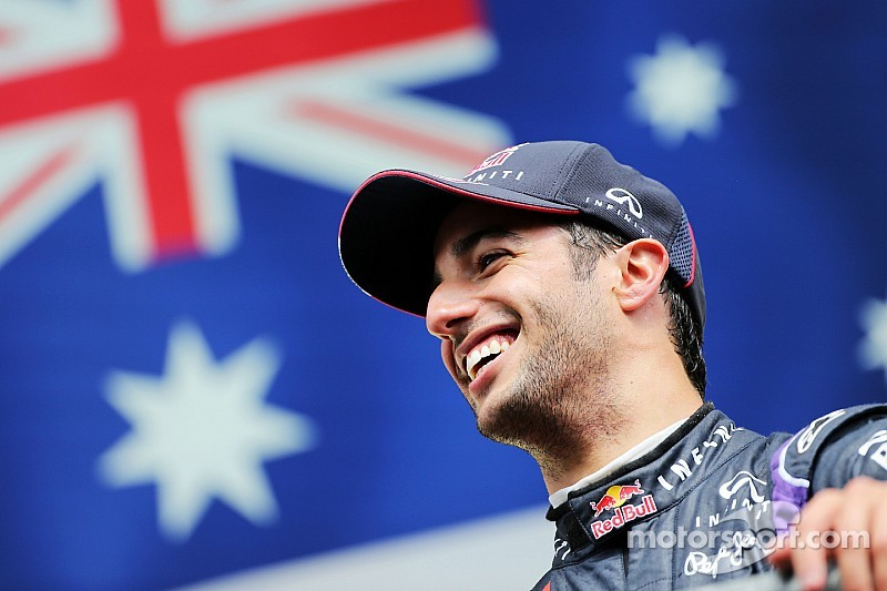 Ricciardo wins sporting breakthrough prize