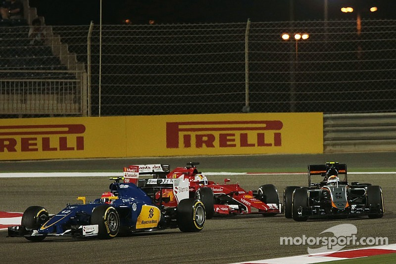 Vettel escapes unsafe release grid penalty