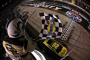 NASCAR Cup Race report Kenseth wins longest Bristol race in NASCAR history