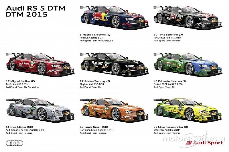Audi présente 8 livrées pour récupérer le numéro un