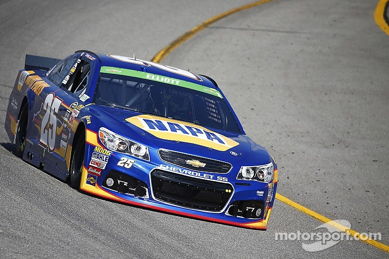 Chase Elliott runs solid in second Sprint Cup race