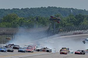 NASCAR Cup Breaking news 'Big One' strikes on lap 46 at Talladega - video