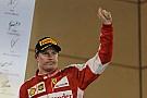 Räikkönen - Arrivabene a reconstruit une équipe centrée sur les deux pilotes